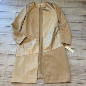 NWT Kenneth Cole Palomino Light Camel Colored Coat